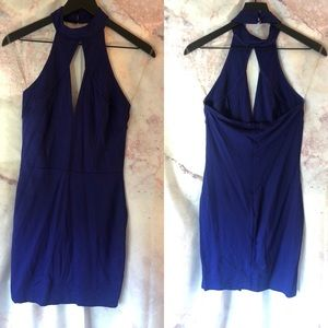 Never Worn Blue Charlotte Russe Dress